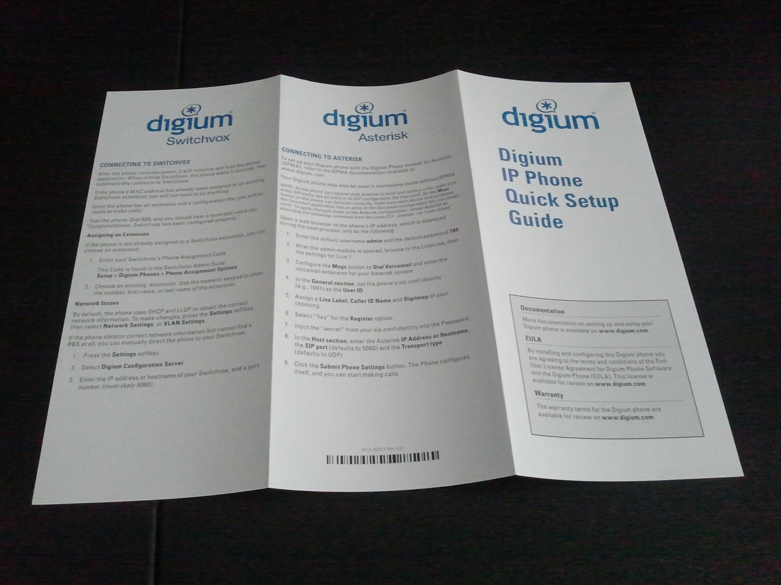 Digium phone